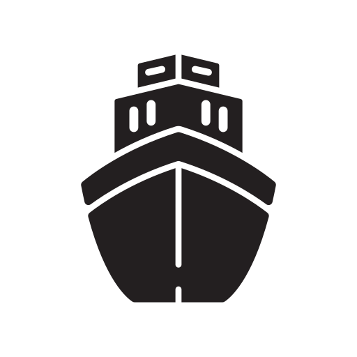 Big, Boat, Boats, Front, Push, Tug, View Icon Free Of Transportation