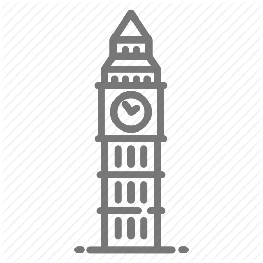Bell, Big Ben, Clock, London, Parliament, Westminster Icon