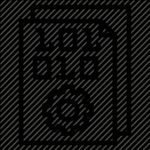 Analytics, Big, Data, Information, Machine, Process Icon