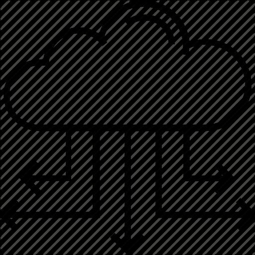Big Data, Cloud Computing, Cloud Links, Cloud Sharing, Data Icon