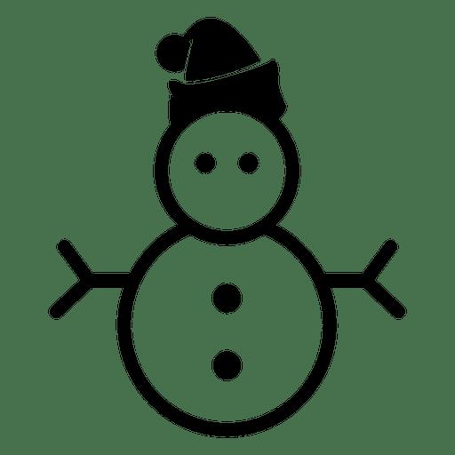 Snowman Christmas Icon