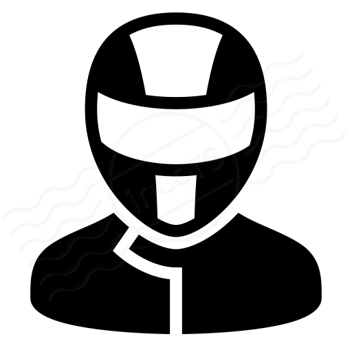 Iconexperience I Collection Motorcyclist Icon