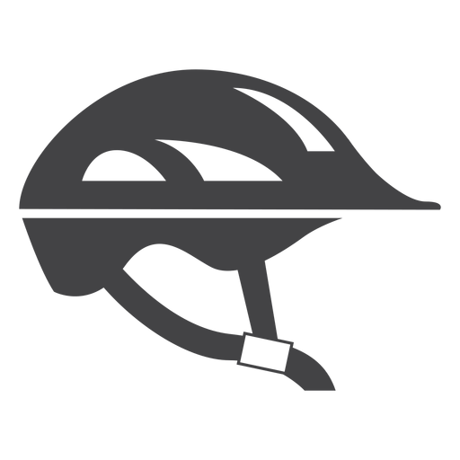 Bicycle Helmet Flat Icon