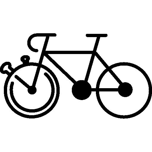 Mountain Bike Outline Variant