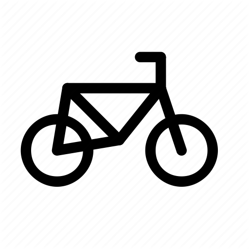 Bicycle, Bike, Cycle, Cycling, Cyclists, Lane, Transportation Icon