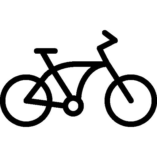 Bicycle Icon Transport Set Smashicons
