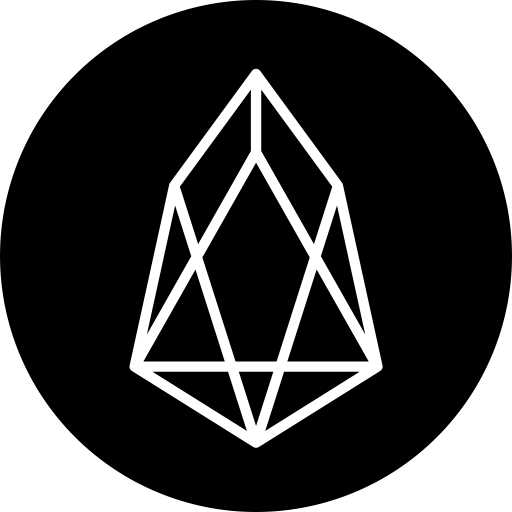 Eos Icon Cryptocurrency Flat Iconset Christopher Downer