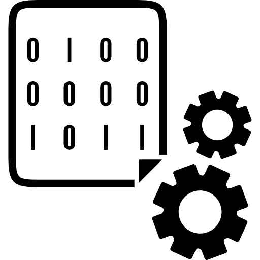 Binary Data Icon