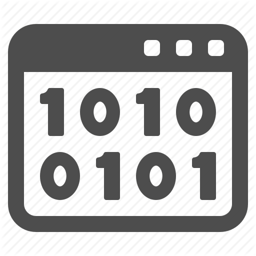 Binary, Code, Coding, Web Page, Webpage, Website Icon