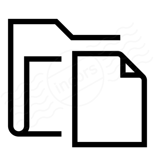 Iconexperience I Collection Folder Document Icon