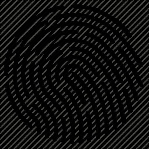 Biometric, Dactylogram, Data, Fingerprint Icon