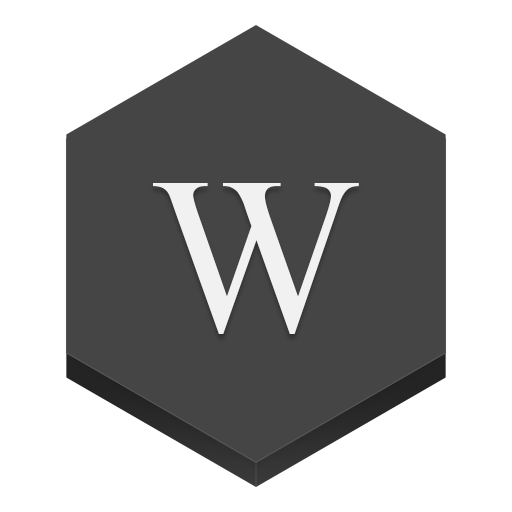 Wikipedia Icon Hex Iconset