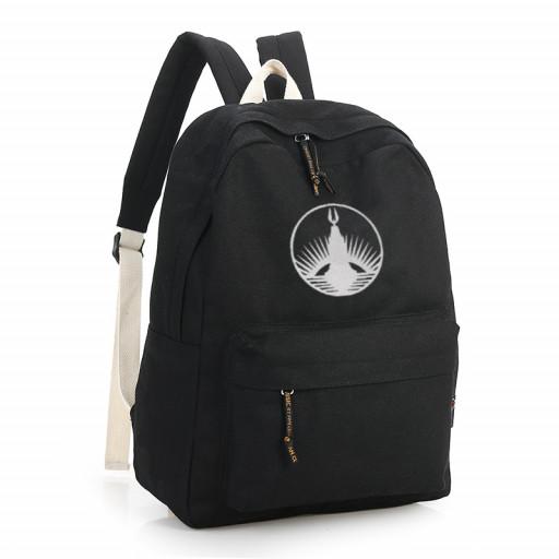Bioshock Rapture Icon Black Backpack Gonselling On Artfire