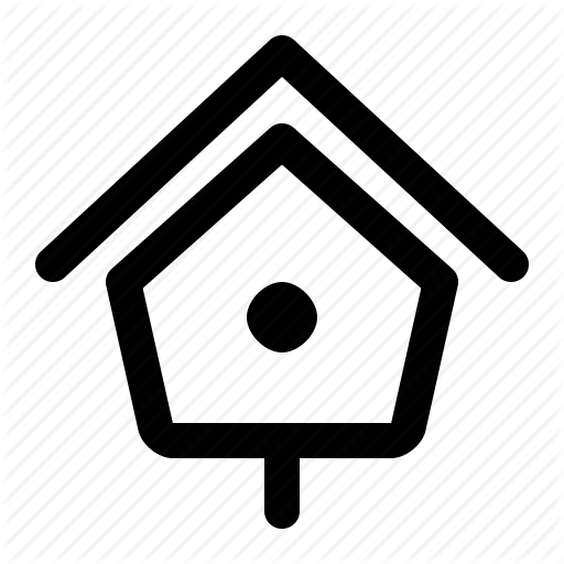 Bird Box, Bird Nest, Birdhouse, Box, House, Nest Box, Structure Icon