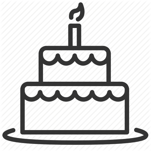 Birthday Cake Icon Facebook