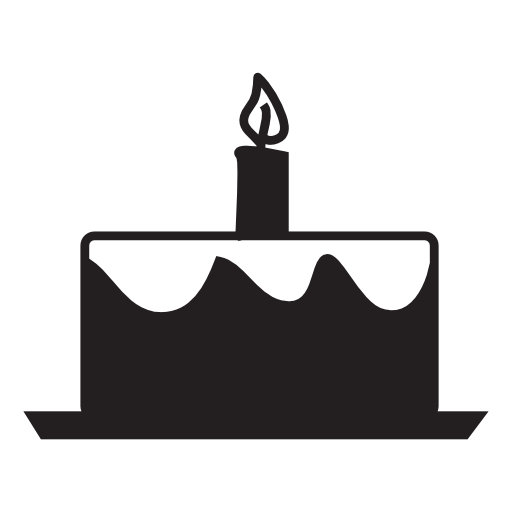 Candles Birthday Cake Icon Free Icons Download