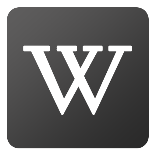 Wikipedia Icon Flat Gradient Social Iconset Limav