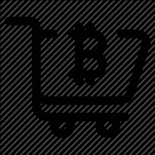 Bitcoin, Buy, Crypto, Mining, Shopping Cart Icon