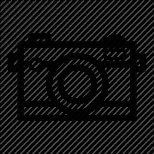 Analog Camera, Canon, Dslr, Eos, Nikon, Photography Icon