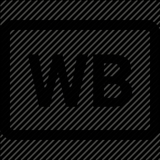 Black And White, Camera, Wb, White Black Icon