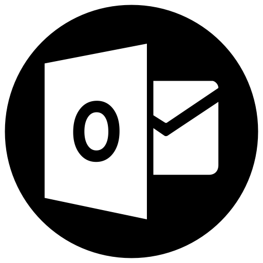 Address Book, Circle, Contacts, Email, Mail, Outlook Icon