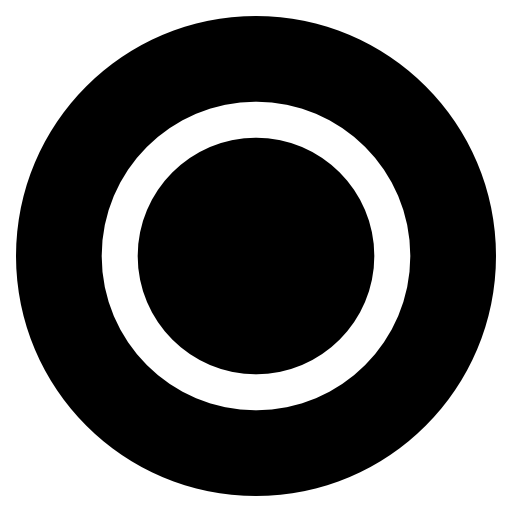 Playstation Circle Black And White Icon Free Download As Png