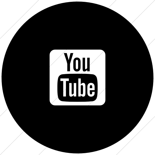 Black And White Youtube Icon At Getdrawings Com Free Black