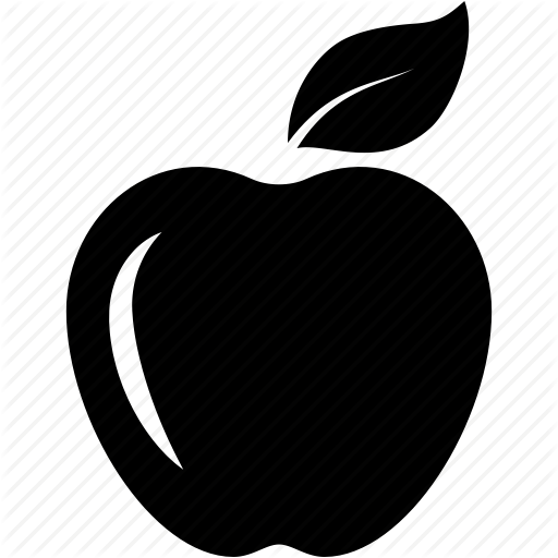 Apple, Eat, Food, Fruits, Healthy, Leaf, Red Apple Icon