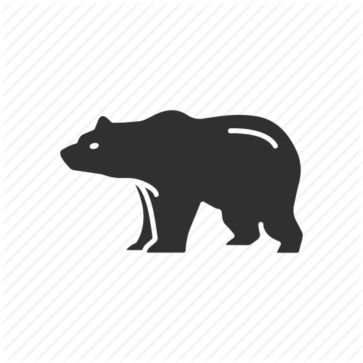 Animal, Bear, Bear Market, Stock Market Icon