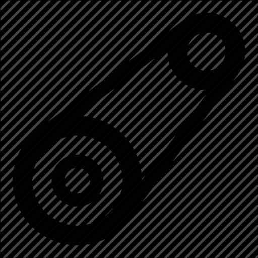 Automobile, Belt, Mechanical, Parts, Timing Belt, V Belt Icon