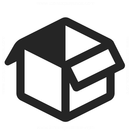 Box Open Icon Iconexperience