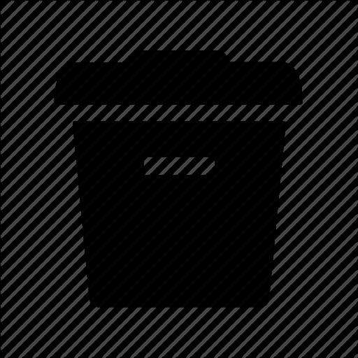Delete, Empty, Garbage, Recycle, Remove, Trash, Trashcan Icon
