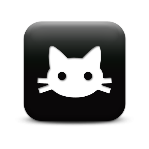 Black Cat Icons Png Download