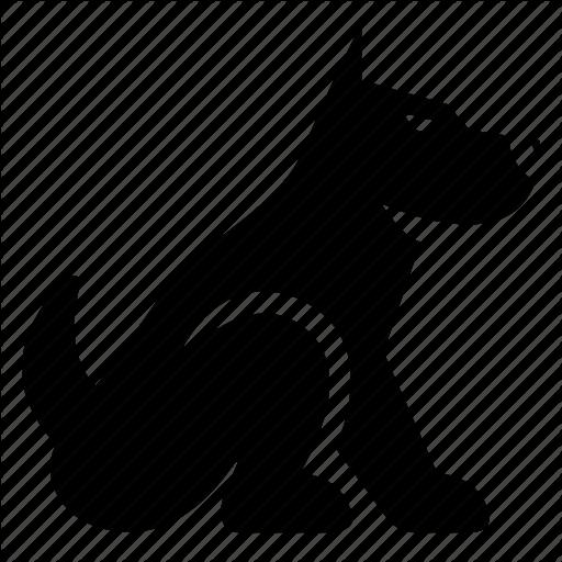 Black Dog Icon