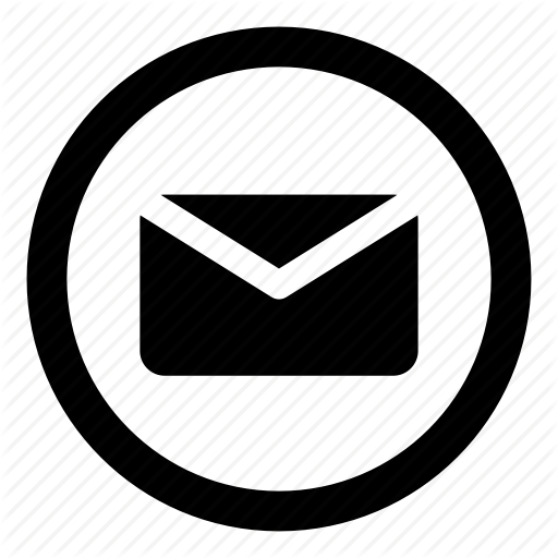 Email Icons Black And White