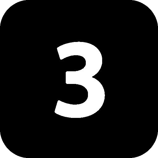 Numbers Black Icon Windows Iconset