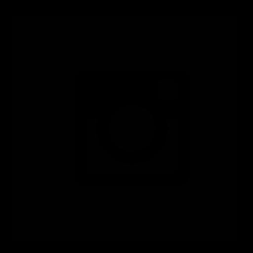 Instagram Glyph Black Icon