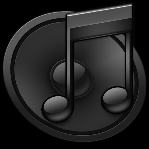 Itunes Black S Icon