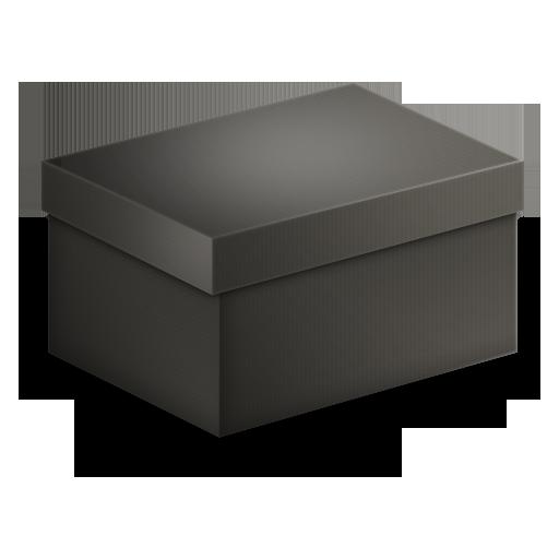 Box Black Icon
