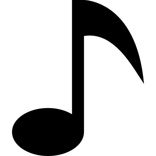 Music Note Black Symbol Icons Free Download