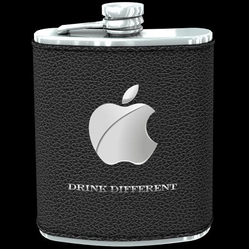 Flask Black Icon