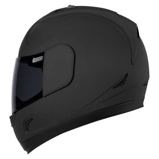 Icon Alliance Dark Helmet In Matte Black Hfx Motorsports