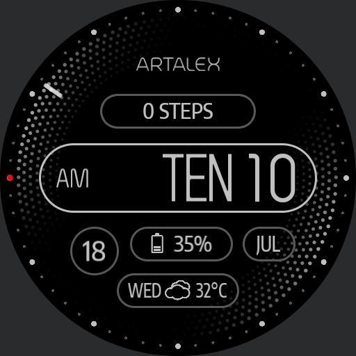 Artalex Black Panther For Huawei Watch