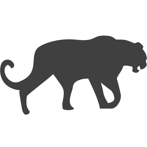 Panther, Leopard, Endangered Icon