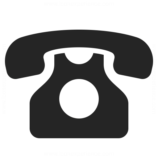 Black Phone Icon