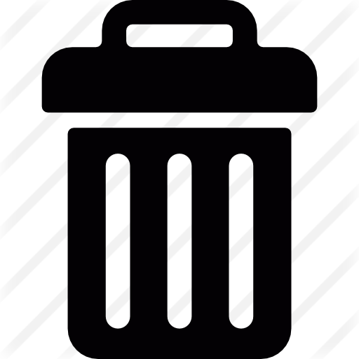 Recycle Bin Container Shape Icons Free Download