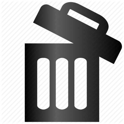Bin, Delete, Empty, Full, Garbage, Recycle, Remove, Restore, Trash