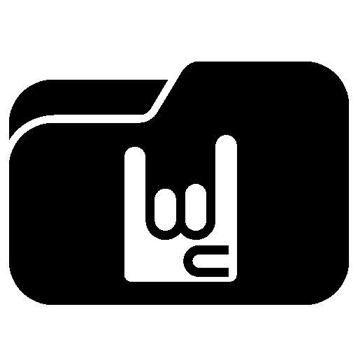 Rock Folder Icon Images