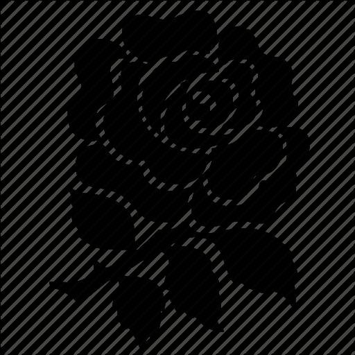 Emblem, England, Kingdom, National, Red, Rose, United Icon