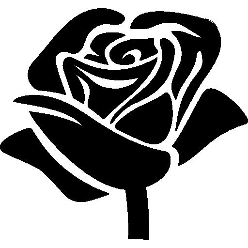 Black Roses Icon